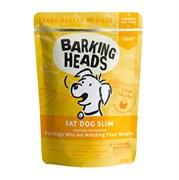 """Barking Heads - Паучи для собак с избыточным весом """"Худеющий толстячок"""" (с курицей) Fat Dog Slim"""