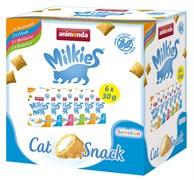 Animonda - Лакомство для кошек набор из 6 пакетиков (домашняя птица) Milkies Selection