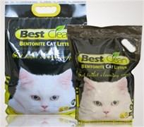 Best Clean - Наполнитель комкующийся для кошек (лимон)