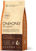 One&Only – Сухой корм для котят (индейка с бурым рисом) Turkey&Rice Kitten