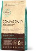One&Only – Сухой корм для всех пород (индейка с бурым рисом) Turkey&Rice All Breeds