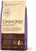 One&Only – Сухой корм для собак крупных пород (индейка с бурым рисом) Turkey&Rice Large Breeds