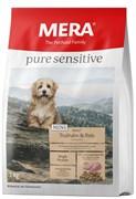 """Mera - Сухой полнорационный корм для взрослых собак малых пород с чувствительным пищеварением (с индейкой и рисом) Pure Sensitive Mini """"Adult Truthahn & Reis"""""""