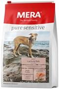 """Mera - Сухой полнорационный корм для взрослых собак с чувствительным пищеварением (с лососем и рисом) Pure Sensitive """"Adult Lachs & Reis"""""""