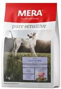 """Mera - Сухой полнорационный корм для взрослых собак с чувствительным пищеварением (с ягненком и рисом)""""Adult Lamm & Reis"""""""