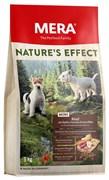"""Mera - Сухой запеченный корм для собак малых пород (говядина с яблоками, морковью и картофелем) Natures Effect Mini """"Rind Mit Äpfeln, Karotten & Kartoffeln"""""""