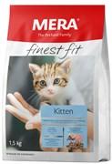 "Mera - Сухой полнорационный корм котят (с птицей) Finest Fit ""Kitten"""