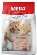 "Mera - Сухой полнорационный корм для стерилизованных кошек (с птицей) Finest Fit ""Sterilized"""