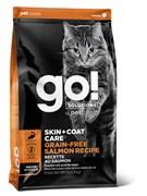GO! Natural Holistic - Беззерновой для котят и кошек (с лососем) SKIN + COAT Grain Free Salmon Recipe CF