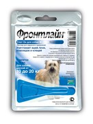 Frontline (Merial) - Спот от блох и клещей для собак 10-20 кг, 1 пипетка, Spot On M