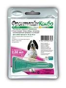 Frontline (Merial) -  Комбо для собак 20-40 кг от блох, клещей и яиц, 1 пипетка, Combo L