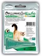 Frontline (Merial) -  Комбо для кошек от блох, клещей и яиц, 1 пипетка, Combo K