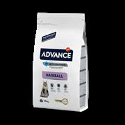 Advance - Сухой корм для вывода шерсти у кошек (с индейкой и рисом) Hairball
