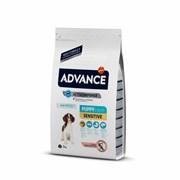 Advance - Сухой корм для щенков с чувствительным пищеварением (с лососем и рисом) Puppy Sensitive