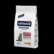 Advance - Сухой корм для стерилизованных кошек старше 10 лет Sterilized Senior