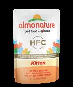 Almo Nature - Паучи для котят (с цыпленком) Classic Cuisine Kitten