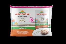 "Almo Nature - Паучи для кошек ""Куриное филе"" (Набор 6 шт. по 55 г) Multipack Classic Chicken Fillet"
