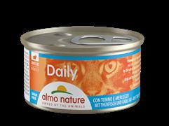 """Almo Nature - Консервы нежный мусс для кошек """"Меню с Тунцом и Треской"""" Daily Menu Mousse Tuna and Cod"""