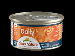 """Almo Nature - Консервы для кошек """"Меню с Форелью """" Daily Menu Cat Trout"""