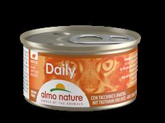 "Almo Nature - Консервы для кошек ""Меню с Индейкой и Уткой"" Daily Menu Cat Turkey and Duck"