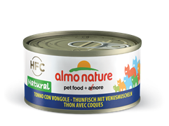 Almo Nature - Консервы для кошек (с Тунцом и Моллюсками) Legend Adult Cat Tuna and Clams