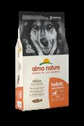 Almo Nature - Сухой корм для взрослых собак крупных пород (с лососем) Large & Salmon Holistic