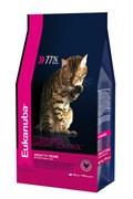 Eukanuba - Сухой корм для взрослых кошек с избыточным весом и стерилизованных Cat