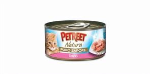 Petreet - Консервы для кошек (кусочки тунца в рыбном супе)