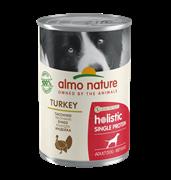 Almo Nature - Консервы для собак с чувствительным пищеварением (индейка) Holistic Single Protein