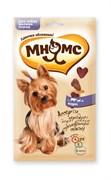 Мнямс - Лакомство для собак мелких пород ассорти (говядина, ягненок, курица)