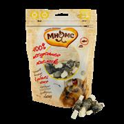 Мнямс - Лакомство для собак (сырные косточки в рыбьей коже)
