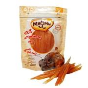 Мнямс - Лакомство для собак (куриная соломка с омега-3, омега-6)