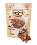 Мнямс - Лакомство для собак (кубики из мяса ягненка с треской)