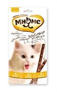 Мнямс - Лакомство для кошек (палочки с цыпленком и печенью) 3шт х 5г