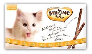 Мнямс - Лакомство для кошек (палочки с цыпленком и печенью) 10шт х 5г