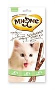 Мнямс - Лакомство для кошек (палочки с уткой и кроликом) 3шт х 5г
