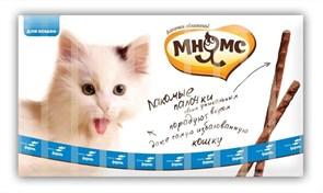 Мнямс - Лакомство для кошек (палочки с лососем и форелью) 10шт х 5г