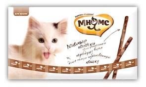Мнямс - Лакомство для кошек (палочки с индейкой и ягненком) 10шт х 5г