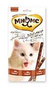 Мнямс - Лакомство для кошек (палочки с говядиной и печенью) 3шт х 5 г