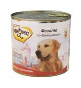 """Мнямс - Консервы для собак """"Фегато по-венециански"""" (телячья печень с пряностями)"""