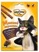 """Мнямс - Лакомство для кошек """"Мясной карнавал"""" (палочки с индейкой и ягненком)"""