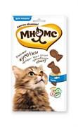 Мнямс - Лакомство для кошек (кусочки в форме рыбок со вкусом лосося)