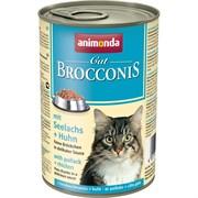 Animonda - Консервы для взрослых кошек (с сайдой и курицей) BROCCONIS CAT