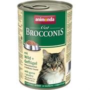 Animonda - Консервы для взрослых кошек (с дичью и мясом домашней птицы) BROCCONIS CAT