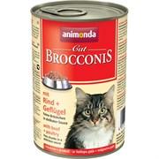 Animonda - Консервы для взрослых кошек (говядина и мясо домашней птицы) BROCCONIS CAT