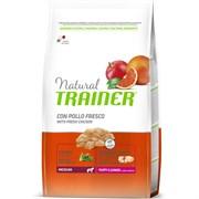 Trainer - Сухой корм для щенков и юниоров средних пород Natural Medium Puppy&Junior