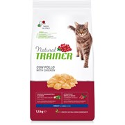 Trainer - Сухой корм для взрослых кошек (со свежим мясом курицы) Natural Adult Fresh Chicken
