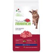 Trainer - Сухой корм для взрослых кошек (с говядиной) Natural Adult Beef