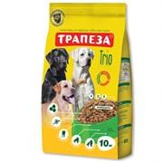 Трапеза - Сухой корм для собак (с индейкой, кроликом и телятиной) TRIO