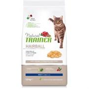 Trainer - Сухой корм для кошек для выведения шерсти (со свежей курицей) Solution Hairball With Fresh Chicken